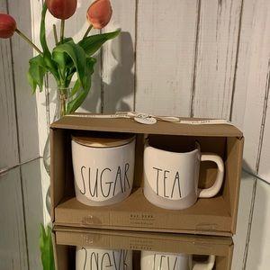 Sugar and Tea set Rae Dunn